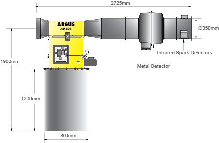 Graphic image of AD50eC Diverter